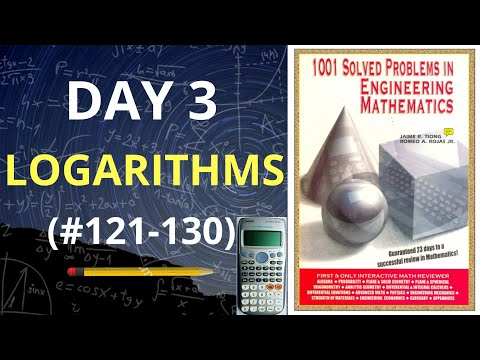 1001 Solved Problems in Engineering Mathematics| Day 3 (problems 121-130) thumbnail