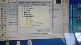 Instalar SIged fin de gestión 2018... paso a paso para Windows 7, 8 y 10