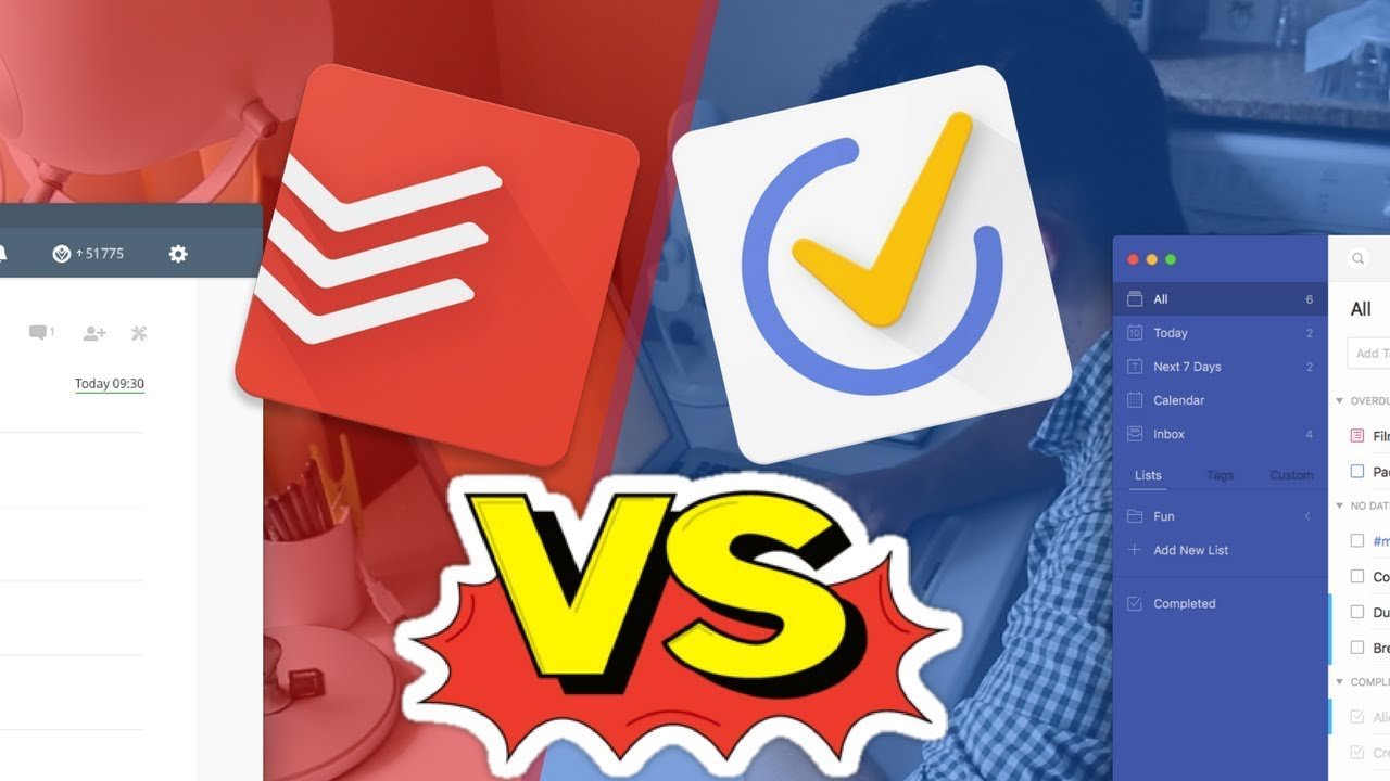 Todoist vs TickTick | Head-to-head battle! (+ FREE PDF)