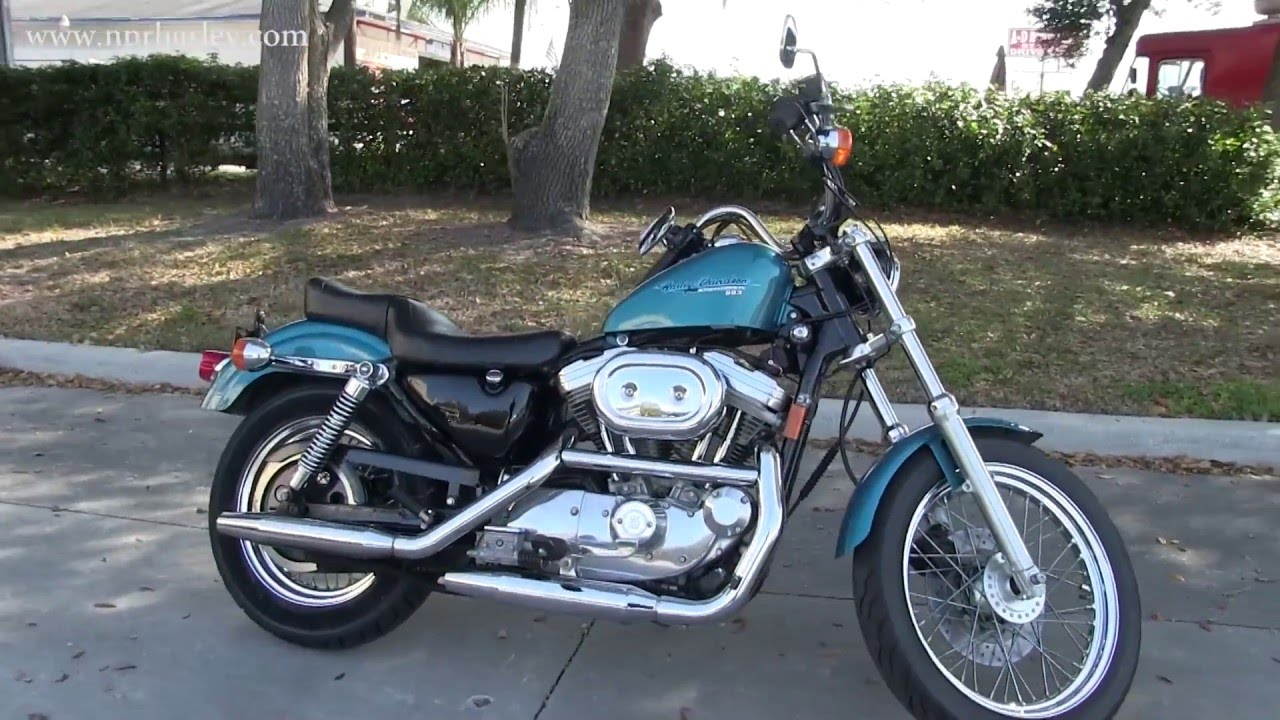 RARE 1995 Harley Davidson XLH883 Sportster Deluxe Hugger
