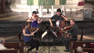 Attacca Quartet plays Haydn Op. 2 no. 1 -- Third Movement
