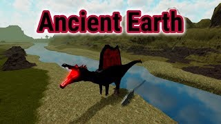 Blood Spinosaurus & Coelacanth! - Roblox Ancient Earth