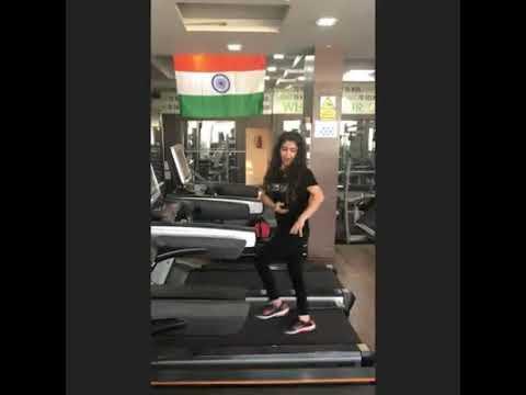 Treadmill Dance | Sonam Pahwa | Unofficial | Holi Holi Nach Patlo