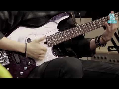 young k playing bass for 2:49