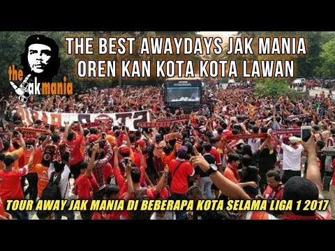 The best awaydays from the jak mania in our city