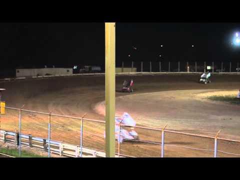 EWSC Racing MSA Sprint Car Feature 8/1/2012