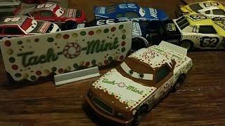 Disney Pixar Cars 2018 Greg Candyman (Stock-Car Tach-O-Mint #101) w/ Bonus Collector Card Review