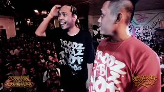 Repeat youtube video FlipTop - Frooz/Elbiz vs Crazymix/Basilyo @ Dos Por Dos 2 Finals