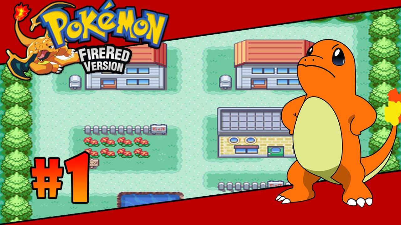 how to get charmander in fire red