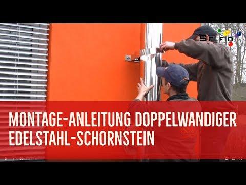 Gut gemocht Montage-Anleitung: Edelstahl-Schornstein nachrüsten - ideal für EE82