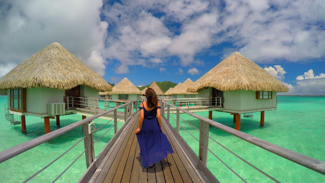 Bora Bora French Polynesia in 4K - YouTube
