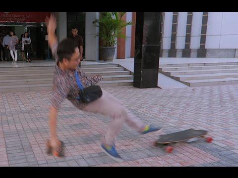 Ditendang Pemotor Abis Ikut Go Skateboarding Day Jakarta 2016 [Personal VLog]