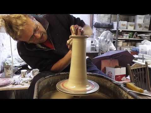 Making a Pottery Lighthouse : Shorter Version