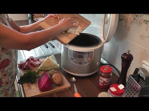 В какой программе варить суп в мультиварке
