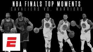 Top moments between Cleveland Cavaliers vs. Golden State Warri…