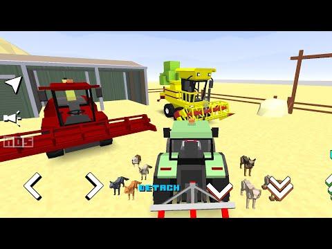 Farming World 2020 - New Blocky Farm Episod | FARM UPDATE | Android / Ios Game Mobile |