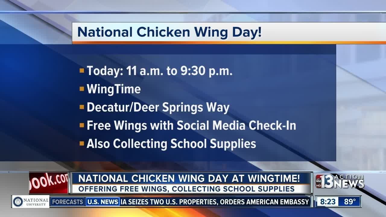Here Is Where You Can Get Free Wings Today for National Chicken Wing Day 2018