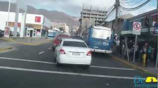 Calles de Antofagasta (Streets of the Antofagasta City)