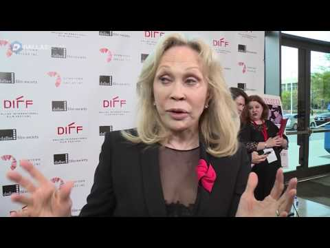 Faye Dunaway attends red carpet screening of Bonnie and Clyde