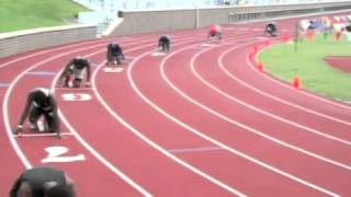Jadeveon Clowney of South Pointe - 2011 State Track Finals
