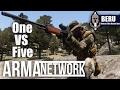 Arma.Network - 1 BERU vs 5 Rebels - Arma 3 - Takistan Conflict Mod