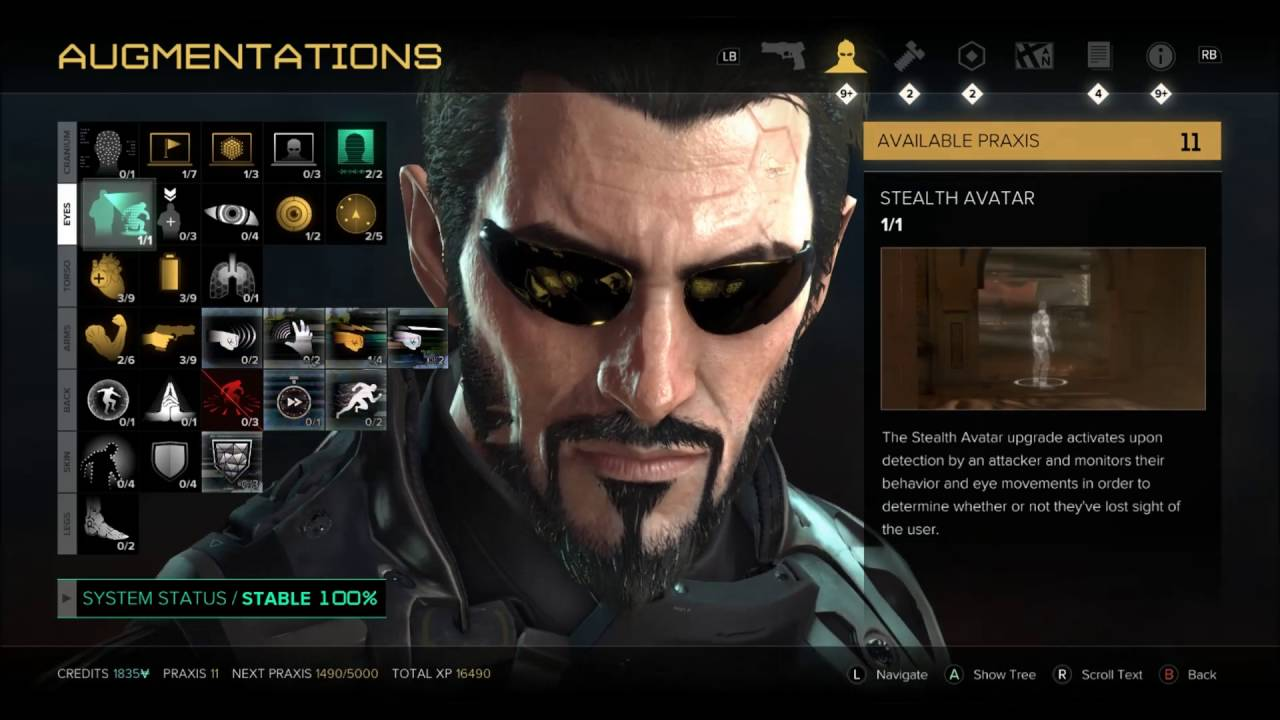 Deus Ex Mankind Divided How to Increase Inventory