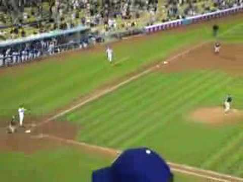 Dodgers vs. Padres 9/18/06 PT. 1 game winning homerun!