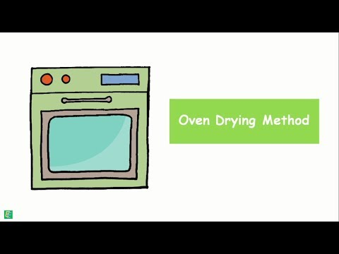 Water content determination  - Oven Drying Method
