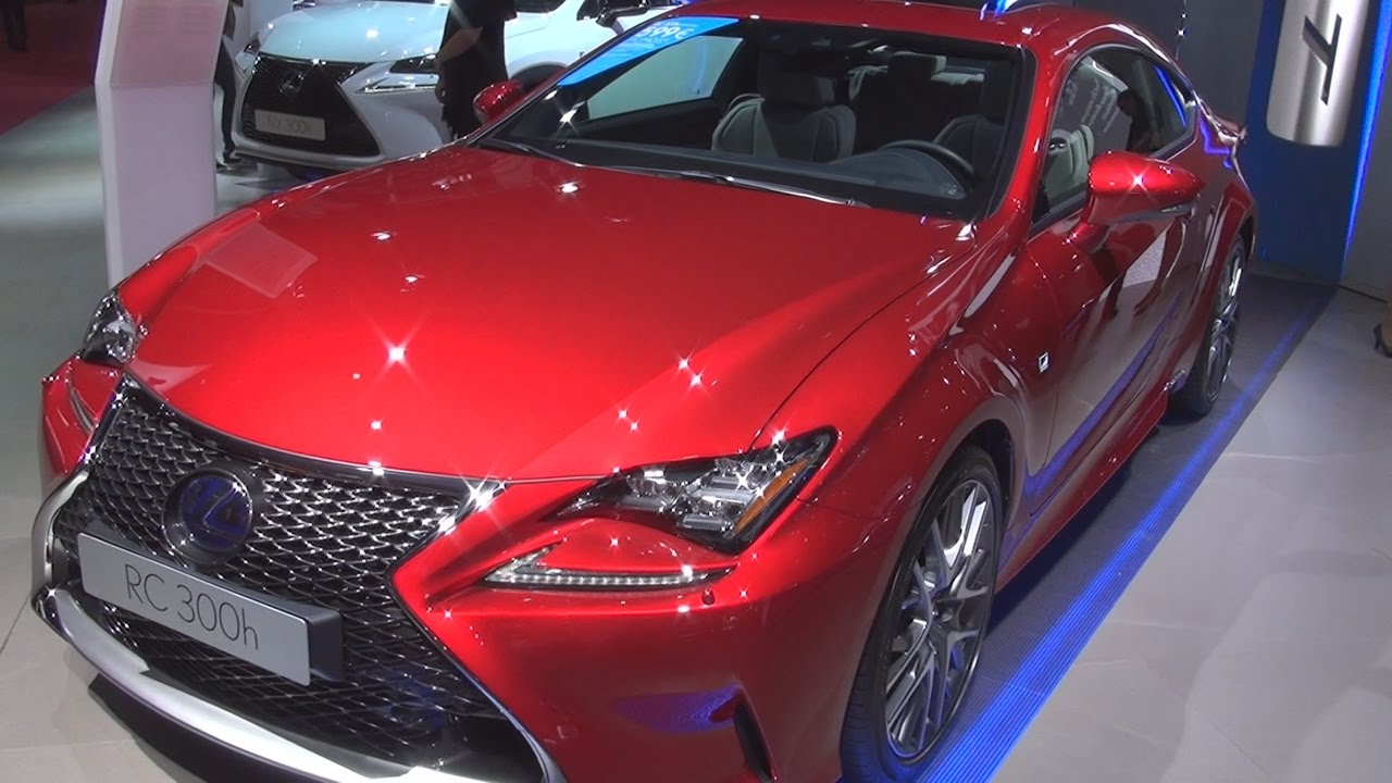 lexus rc 300h f sport executive 2017 exterior and interior in 3d youtube. Black Bedroom Furniture Sets. Home Design Ideas