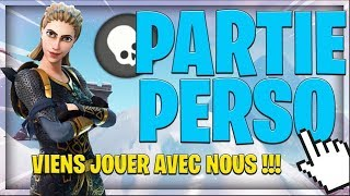 [FR/PS4] LIVE FORTNITE, HOT FOR A PERSO PART!? , CODE: abc123