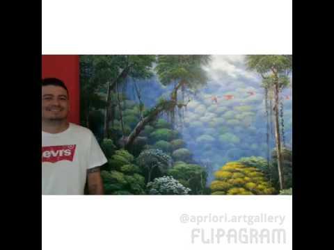 Pintores de Art Gallery Apriori Panama