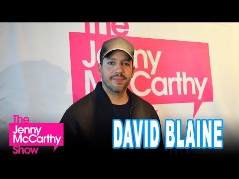 David Blaine on The Jenny McCarthy Show