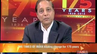 The Times Of India leading change for 175 years