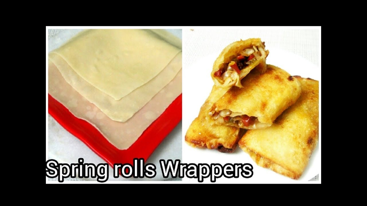 how to make spring rolls filo pastry