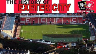 THE HISTORY OF EXETER CITY FOOTBALL CLUB