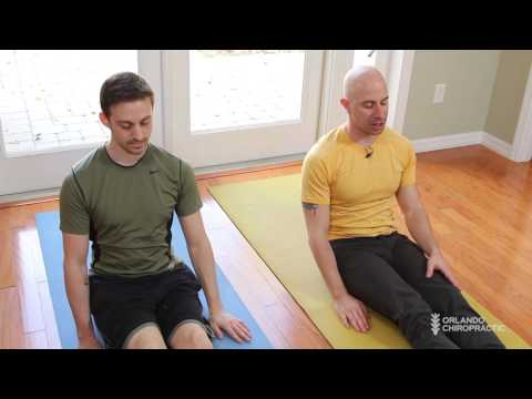 Home stretches for Sciatica, glutes, and piriformis, with hip opener