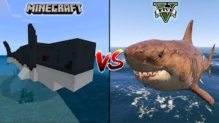 MINECRAFT MEGALODON VS GTA 5 MEGALODON - WHICH IS BEST?