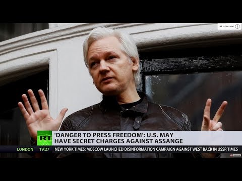 US 'secretly charged' Assange, prosecutor accidentally reveals – WikiLeaks