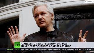 US 'secretly charged' Assange, prosecutor accidentally reveals – WikiLeaks