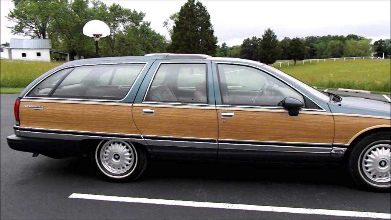 1993 buick roadmaster estate wagon for sale - youtube