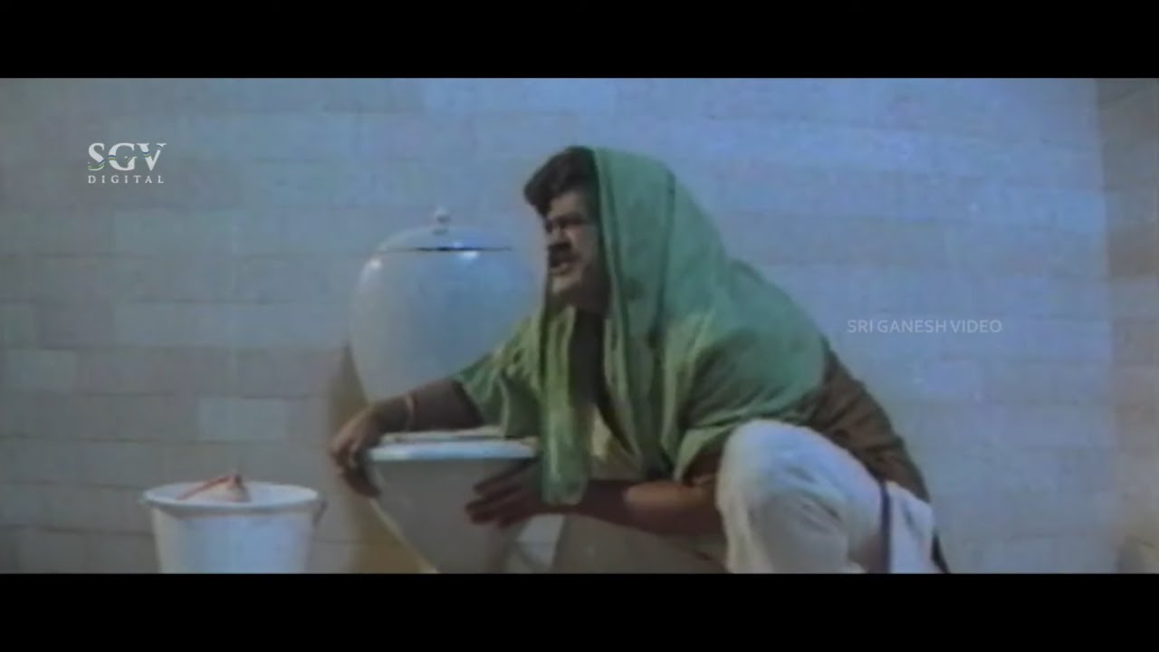 ಸಿಟಿ ಜನ ಅದನ್ನು ಮನೆಯಲ್ಲೇ ಮಾಡ್ತಾರಾ ಥು.. ಗಬ್ಬು ಜನ  | Pattanakke Banda Putta Kannada Movie Part-5