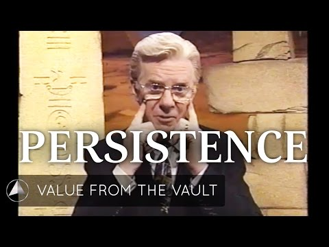 How to Use Persistence to Increase Your Results!
