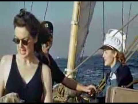 Rosalind Russell  HOME MOVIES compilation