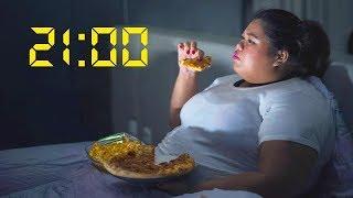 ЕДА на ночь - ВРЕД ИЛИ ПОЛЬЗА? Факты и мифы про метаболизм и мелатонин! Режим дня.