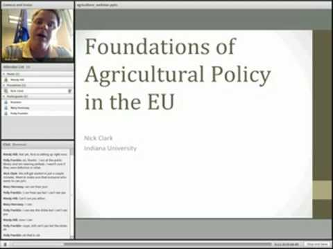 Agricultural Policy in the EU