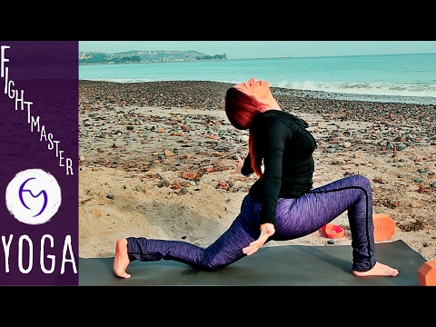 Yoga Stretching for Leg Flexibility (no more low back pain!) With Fightmaster Yoga