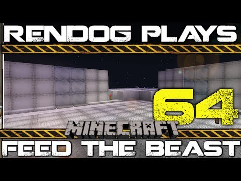 [S1E64] Let's Play Minecraft FTB - Star Trek Sliding Door!
