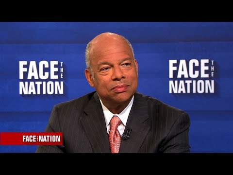 "Jeh Johnson says ""there is still a threat"" to our election infrastructure"