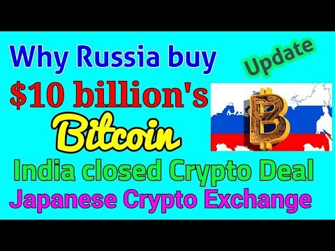 Why Russia buy Bitcoin? India closed Crypto transaction bank account// Coinbd Bangla