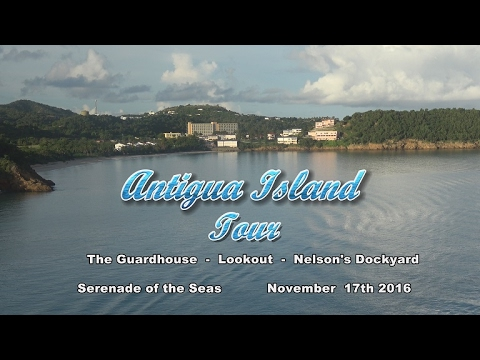 Antigua Land Tour 2016  4K